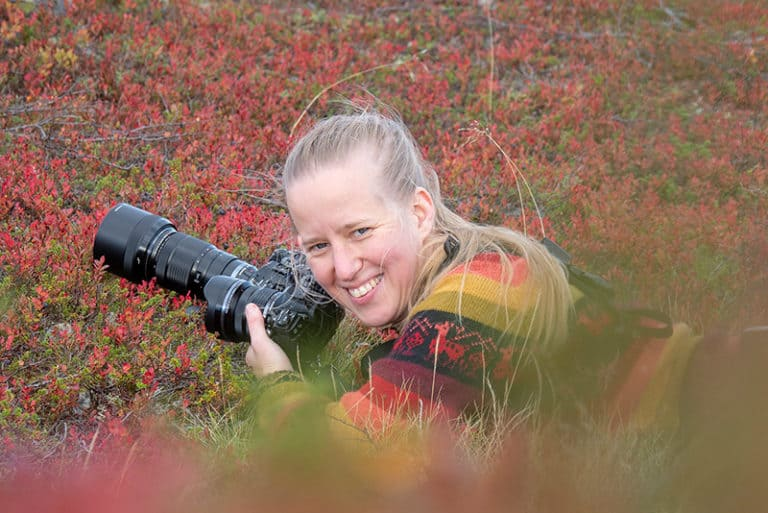 Kaisa Peltomäki, luontokuvauskurssi